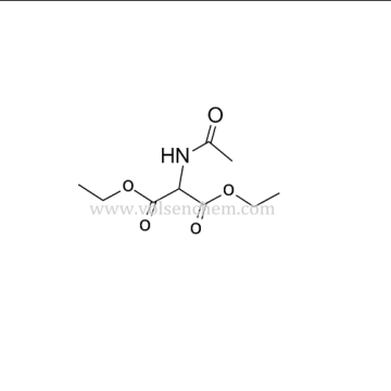 Cas 1068-90-2 White Crystalline Powder Diethyl Acetamidomalonate  For Rebamipide(DAAM)