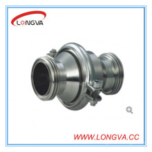 Stainless Steel Male Threaded Check Valve