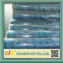 Film de PVC couleur bleu Chine haute qualité