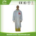 Adult PVC Raincoat with Printing Logo