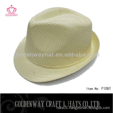 Cheap wholesale Yellow Fedora Hat