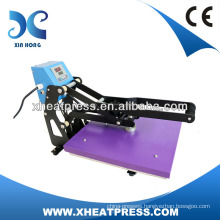 CE Approved Cheap Auto Open Semi-automatic Heat Transfer Machine for Thsirt