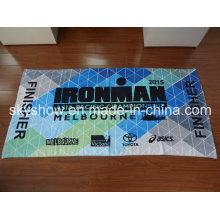 Одна сторона велюровая печатных спортивное полотенце (SST0327)
