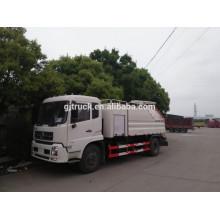 Dongfeng volante a la derecha Camión de succión de aguas residuales / camión lavatorio camión de aguas residuales / lavatorio de lavado / camión limpio de alta presión