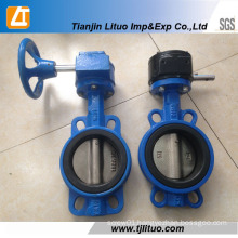 Cast Iron Ductile Iron Wafer Type Butterfly Valve