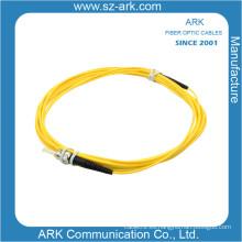ST / PC-ST / PC Cable de fibra óptica sencilla monomodo