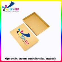 OEM Printing Gift Packaging Brown Kraft Paper Box