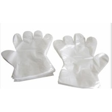 Medical polyethylene examination film gloves