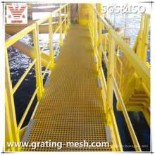Molded FRP/GRP/Fiberglass Grating for Platform