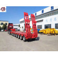7 Axles Gooseneck Extendable Lowbed Trailer