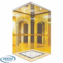 400кг нержавеющей стали стеклянный Селитебный крытый панорамный Лифт
