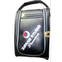 Golf Shoe Bag Made of PU Leather