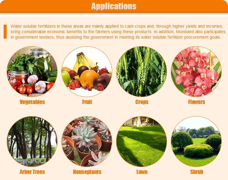 APPLICATION fertilizer