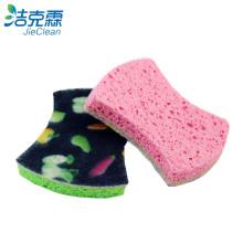 Almofada de limpeza / esponja de celulose