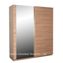 Элегантный красивый декор Спальня Зеркальный раздвижной шкаф (WB70)