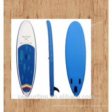 2016 diseño azul antideslizante pad sup paddle board inflable en oferta