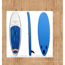 2016 azul design antiderrapante pad sup paddle inflável à venda