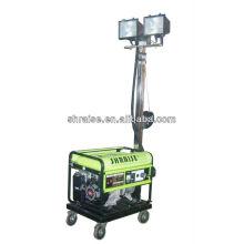 Générateur d'essence à 5kw de tour de lumière mobile RZZM-13G