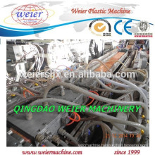 Wood plastic compound WPC PE PVC decking panel machinery