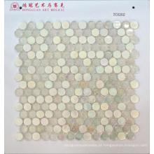Kit de mosaico em forma redonda
