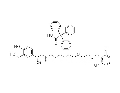 CAS 503070-58-4, High Purity Vilanterol Trifenatate (GW642444)