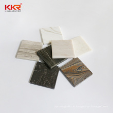 6-30mm White Marble Pattern Artificial Stone Sheet Bending 100% Pure Acrylic Solid Surface for hospital