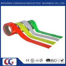PVC-einfarbiges reflektierendes Band mit Kristallgitter