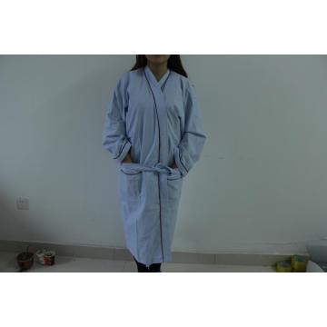 Spa Adult Waffle Diamond Pattern Bathrobe
