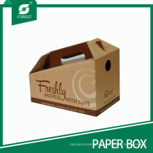Custom Size Brown Coffee Cup Carrier/Holder Wholesale