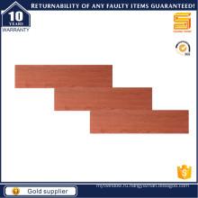 Красная деревянная плитка 150X600 мм