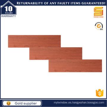 Azulejo de madera rojo de 150X600mm