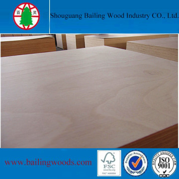 Eucalyptus Core WBP Glue Furniture Grade Okoume Plywood