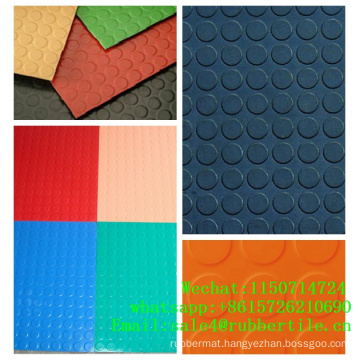 Rubber Tile Flooring Fire-Resistant Rubber Flooring