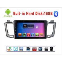 Système Android Car DVD Navigation GPS pour Toyota RAV4 Écran tactile 10,1 pouces avec Bluetooth / MP3 / MP4