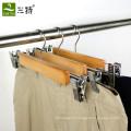 Agrafes d'utilisation de vêtement bon marché pour le cintre de pantalon
