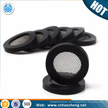 Premium 10mm x 19mm x 3mm stainless steel filter strainer plastic rubber Shower Hose Washer Cap Filter Screen