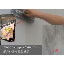 Damp Proof White Cement Based Wall Putty Skim Coat For Exterior