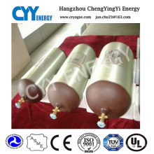 CNG Steel Cylinder ISO11439 Standard 3/4 Threaded