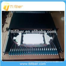 LC Duplex Painel de Patch de 24 Fibras Ópticas Portas