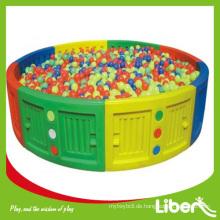 Kinder Indoor Amusement Spielplatz von Soft Ball Pool mit Fabrik Preis LE.QC.001 Qualität gesichert