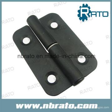 Black Powder Stainless Steel Detachable Hinge