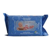 Tapa de toallitas húmedas de plástico para el cuidado de la piel del bebé