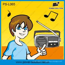 Портативный 3W Солнечный фонарь с FM-радио для Африки
