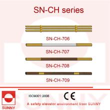 Pasamanos de la cabina del elevador con diverso diseño (SN-CH-706)