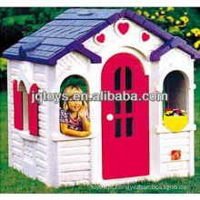 Brinquedos de jardim plástico ao ar livre playhouse