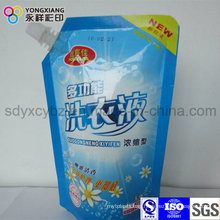 Customized Stand up Launddry Detergent Packaging Bag