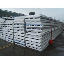 EPS sanduíche painel telhado painel Eco amigável produto leve isolado pré-moldado eps cimento concreto sanduíche de aço da cor