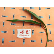 60% cotton 40% polyester Printed fabric for clothes