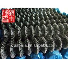 Clôture amovible de la chaîne et clôture en caoutchouc enroulée en vinyle et clôture