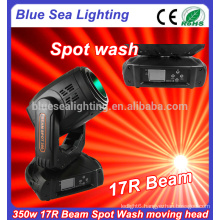 17r 350W beam spot wash 3in1 moving head stage light